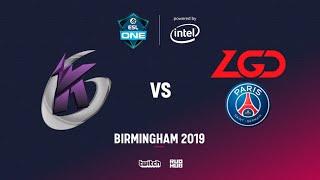 Keen Gaming vs LGD, ESL One Birmingham, bo2, game 1 [Adekvat & Mortalles]