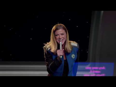 Kelly & Bortus Sing Karaoke | THE ORVILLE Season 1 - Episode 9: Cupid's Dagger [Anyway You Want It]