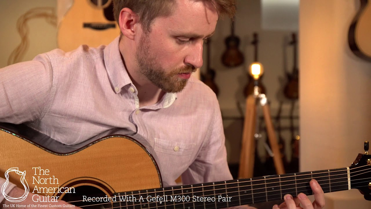 """David Eichelbaum """"Super"""" Grand Concert Acoustic Guitar Played By Will McNicol (Part Two)"""