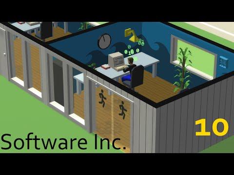 Software Inc. Прохождение. #10.Выпуск звукового редактора и разработка игрового движка.