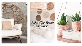 BOHO-CHIC ROOM MAKEOVER | DECORATE WITH ME