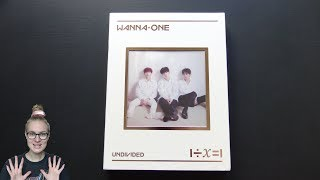 Unboxing Wanna One 워너원 1st Special Korean Album 1÷X=1 (Undivided) [Lean On Me Edition]