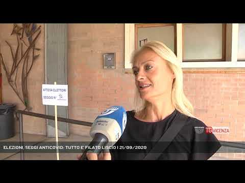 ELEZIONI, SEGGI ANTICOVID: TUTTO E' FILATO LISCIO | 21/09/2020