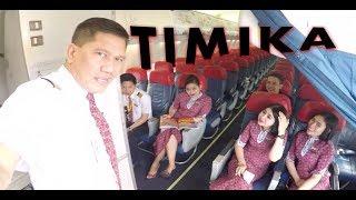 Video Cockpit View - Landing @ Mozes Kilangin International Airport, Timika MP3, 3GP, MP4, WEBM, AVI, FLV Juni 2019