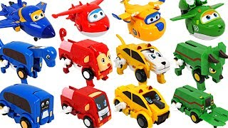Video Super Wings have friends! Dinosaurs, animals auto transforming car Carnimals appeared! - DuDuPopTOY MP3, 3GP, MP4, WEBM, AVI, FLV Maret 2018