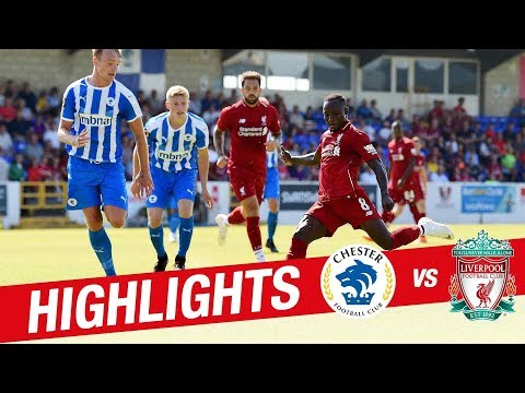 Highlights: Chester 0-7 Liverpool FC | Reds Hit Seven In First Pre-season Game