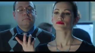Rebecca Romijn as a robot