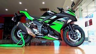 6. Kawasaki Ninja 300 KRT Edition Walkaround Review #Bikes@Dinos