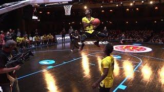 Kobi Simmons soaring reverse dunk at the McDonald's All-American Game