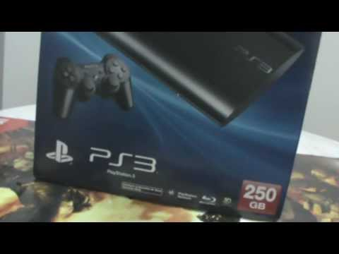 UNBOXING NEW PS3 SUPER SLIM (PT-BR)
