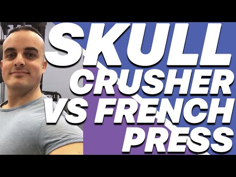 Esercizi Tricipiti: Skull Crusher vs French Press con Bilanciere