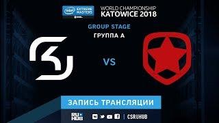 SK vs Gambit - IEM Katowice 2018 - map2 - de_overpass [Enkanis, yXo]