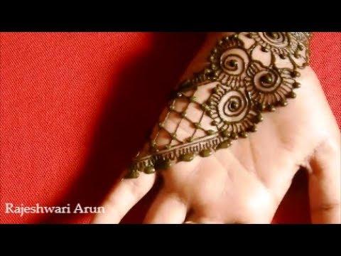 Diwali Henna Mehndi Design For Hands 2018 New Beautiful Mehndi