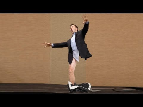 Motivational Speaker Loses His Pants