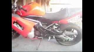 5. taking apart a Kawasaki Ninja 650R