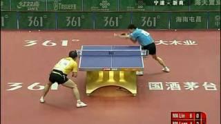 Chinese Superleague 2010: Ma Long-Ma Lin