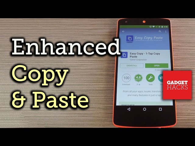 Enhance Android's Copy & Paste Functions [How-To]