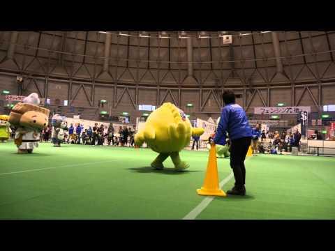 【ゆるキャラ】福井のキャラたちで20m走 その1【きくりん】
