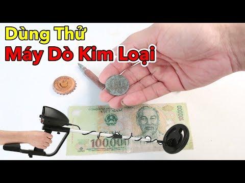 Lâm Vlog - Dùng Thử Máy Dò Kim Loại Trên Bờ Sông | Metal Detector - Thời lượng: 15:40.