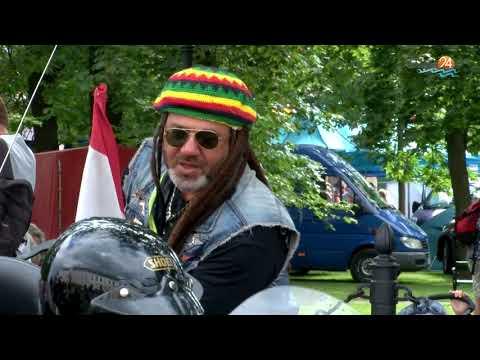 Parada motocykli, blues na platformie, koncert za koncertem. Suwałki Blues Festival 2019