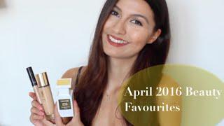 April 2016 Beauty Favourites