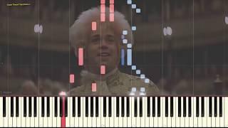 Turkish March - Mozart & Rock (Ноты и Видеоурок для фортепиано) (piano cover)