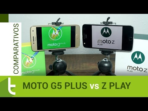 Comparativo: Moto G5 Plus vs Moto Z Play  Review do TudoCelular
