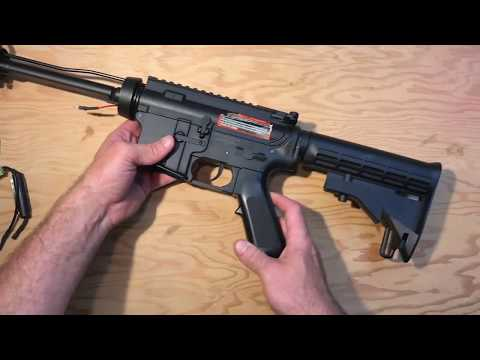 How To Disassemble A Colt M4 Airsoft Gun