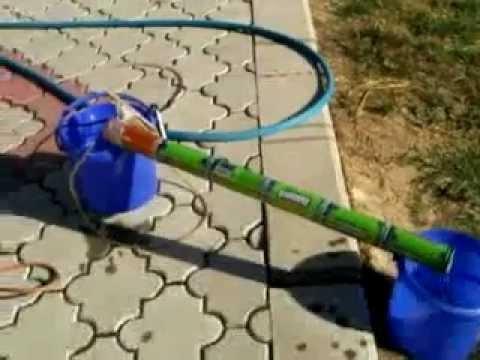 Solarno grejanje vode limenkama