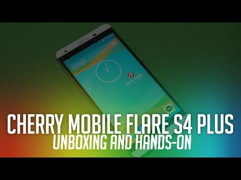 Cherry Mobile Flare S4 Plus Unboxing and Initial Review