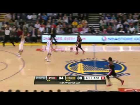 Portland Trail Blazers 93 – Golden State Warriors 91