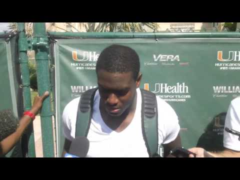 Tyriq McCord Interview 10/28/2013 video.
