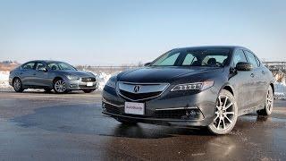 2015 Acura TLX Vs 2015 Infiniti Q50