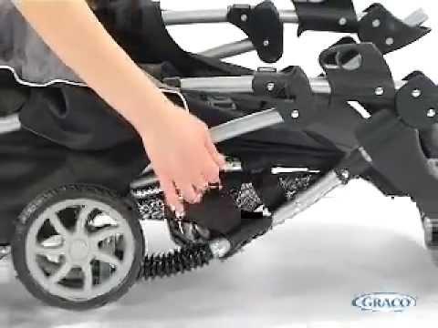 Прогулочная коляска Graco MIRAGE+ SOLO,  BLACK ZigZag (чёрный)