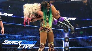 Nonton HINDI - Naomi vs. Alexa Bliss - SmackDown Women's Championship Match: SmackDown LIVE, 4 April, 2017 Film Subtitle Indonesia Streaming Movie Download