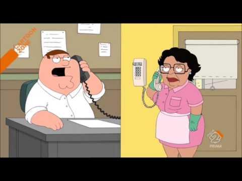 i griffin - peter al telefono con consuelo