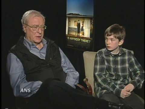MICHAEL CAINE & BILL MILNER ANS INTERVIEW IS ANYBODY THERE