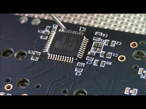 SMD soldering by hot air