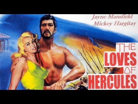 The Loves Of Hercules 1960 | Hollywood Fantasy Movie | Jayne Mansfield, Mickey Hargitay