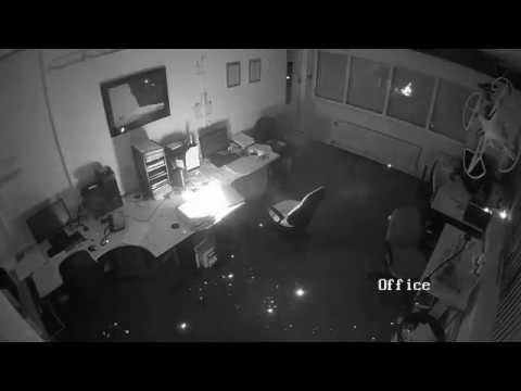 Взрыв ноутбука в офисе