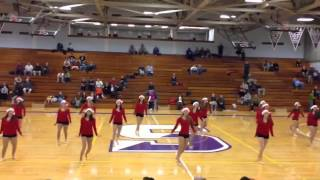 The University of Scranton Dance Team- Christmas Kickline 2013