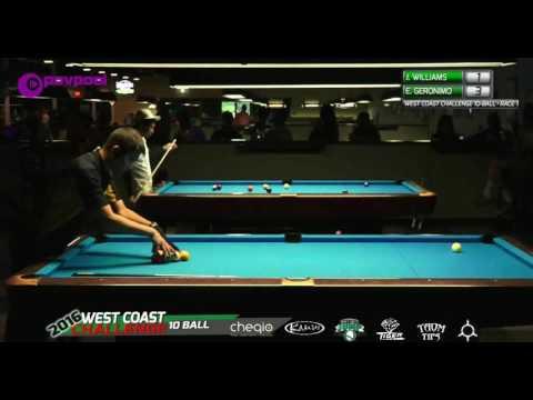 #4 • Jason WILLIAMS vs Edgie GERONIMO / 2016 WCC 10-BALL (видео)