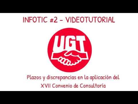 VIDEO INFOTIC #2 (Plazos y Discrepancias)  sobre aplicación del nuevo XVII Convenio de Empresas de Consultoría y Estudios de Mercado y de la Opinión Pública