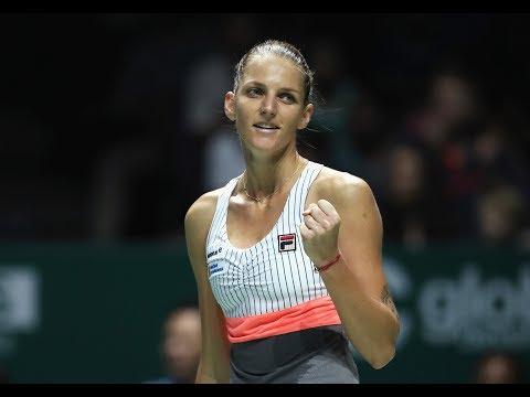 2017 WTA Finals Singapore | Karolina Pliskova vs Venus Williams | WTA Highlights (видео)