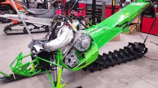 7. 2017 Arctic Cat Mountain Cat MODDED | Part 2