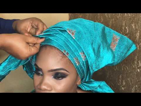 HOW TO TIE THE HOW COME / ZIG ZAG GELE {DETAILED}