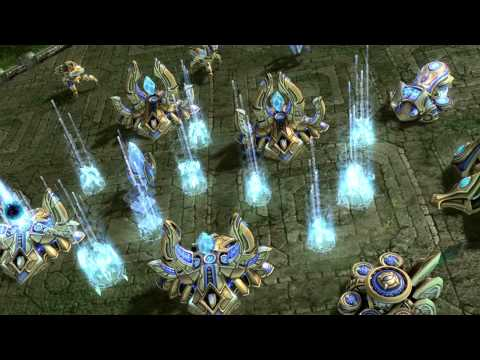 The Opening Of Game of Thrones, Done In StarCraft