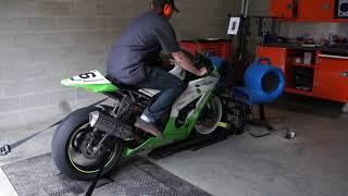 9. Kawasaki Daze Dyno Shootout - 2011 Kawasaki Ninja ZX10R Road Racer