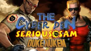 This opening jingle features Serious Sam and Duke Nukem, two big, badasses who love to listen to The Cyber Den weekly. Too bad they don't get along very well...Subscribe for more great content from Jake The Voice!-------------------------------------------------------------------------------------------------- Website: http://www.jakeparrthevoice.co.uk/- Facebook: https://www.facebook.com/jakethevoice/- Cyber Den FB Page: https://www.facebook.com/thecyberden/- Tumblr: http://jakethevoice.tumblr.com/- Twitter: https://twitter.com/JakeTheVoice123- SoundCloud: https://soundcloud.com/jake-parr-the-voice