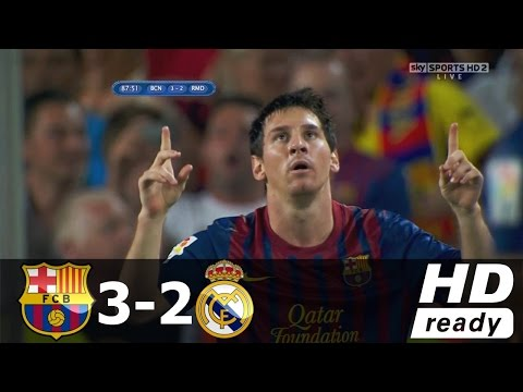 Real Madrid vs Barcelona 2 3  SUPER CLASICO 23 04 2017 HD